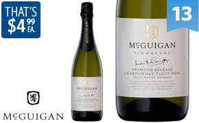 25% Off 6 x McGuigan Wines Signature Sparkling Chardonnay Pinot Noir 2011, 1-Day Deal for 29.94$ @ Dealsdirect.com.au