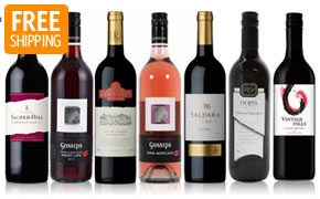 All Red Wines + Free shipping, 1-Day Deal for From 23.94$ @ Dealsdirect.com.au