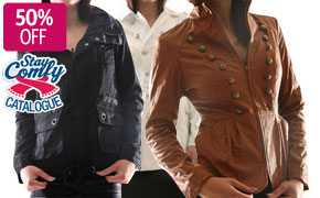 50% Off Ladies Jackets Multiple Styles for Winter, 1-Day Deal for From 14.97$ @ Dealsdirect.com.au