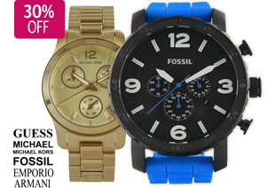 Save 30% OFF Big Branded Watches Over 450  Styles of  Selected at DealsDirect.com.au