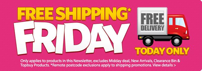 Free Shipping Friday @ DealsDirect.com.au